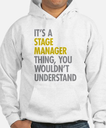 Stage Manager Thing Hoodie
