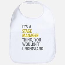 Stage Manager Thing Bib
