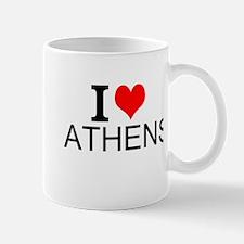 I Love Athens Mugs