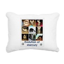 Evolution of Mercury Rectangular Canvas Pillow