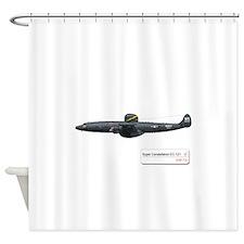 EC-121_Super Constellation WV.png Shower Curtain