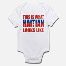 Haitian looks like! Infant Bodysuit