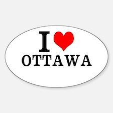 I Love Ottawa Decal