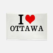 I Love Ottawa Magnets