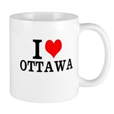 I Love Ottawa Mugs