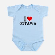 I Love Ottawa Body Suit