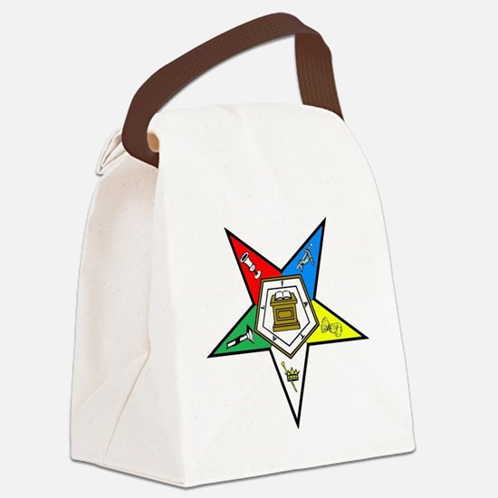 Order Of the Eastern Star Canvas Lunch Bag