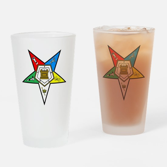 Order Of the Eastern Star Drinking Glass