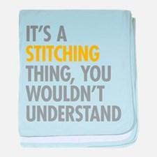 Its A Stitching Thing baby blanket