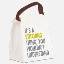 Its A Stitching Thing Canvas Lunch Bag