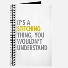 Its A Stitching Thing Journal