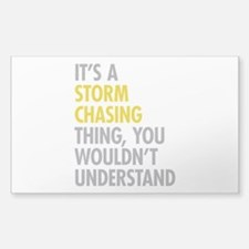 Storm Chasing Thing Decal