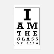 Class of 2020 Eye Chart Decal