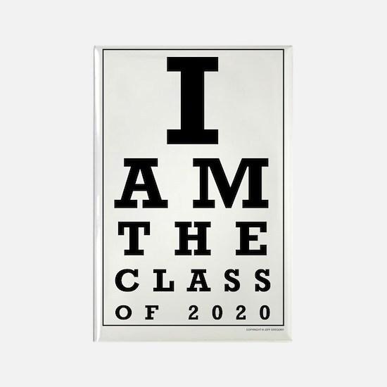 Class of 2020 Eye Chart Magnets
