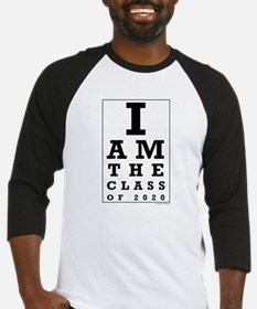 Class of 2020 Eye Chart Baseball Jersey