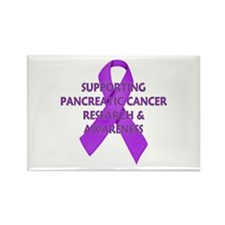 ...Pancreatic Cancer... Rectangle Magnet