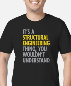 Structural Engineering Men's Fitted T-Shirt (dark)