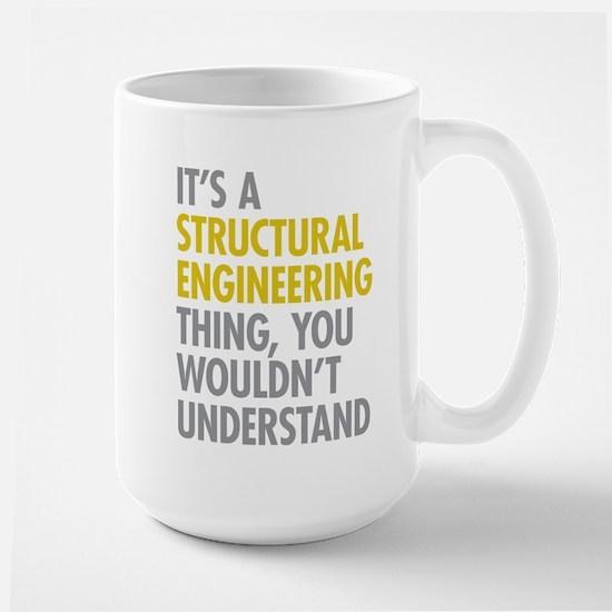 Structural Engineering Thing Large Mug