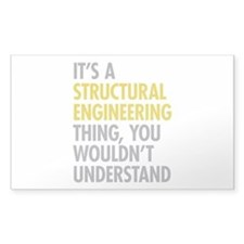 Structural Engineering Thing Decal