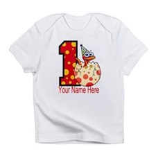 1st Birthday Dino Egg Infant T-Shirt