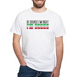 Nonno Mens White T-shirts