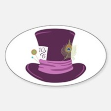 Mad Hatter Hat Decal
