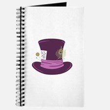 Mad Hatter Hat Journal