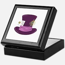 Mad Hatter Hat Keepsake Box