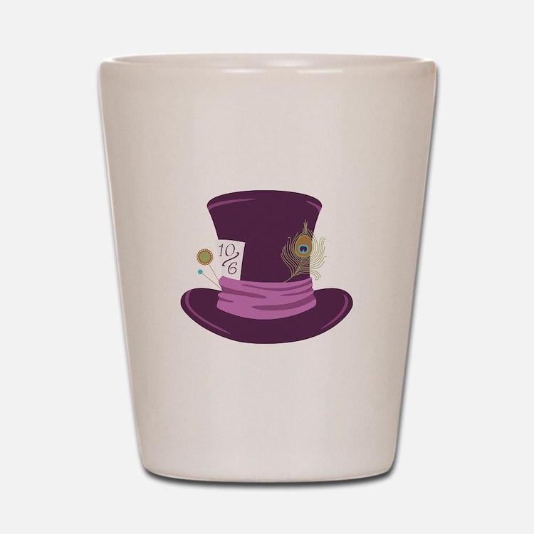 Mad Hatter Hat Shot Glass