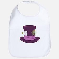 Mad Hatter Hat Bib