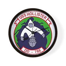 DD-788 USS HOLLISTER US NAVY Destroyer Wall Clock