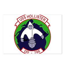 DD-788 USS HOLLISTER US N Postcards (Package of 8)