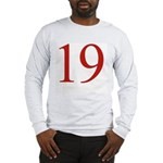 Megababe 19 Long Sleeve T-Shirt