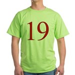 Megababe 19 Green T-Shirt