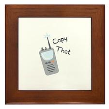 Copy That Framed Tile
