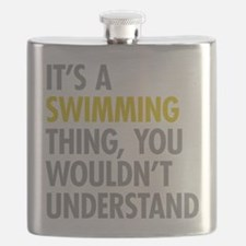 Its A Swimming Thing Flask