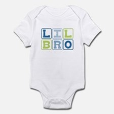 Lil Bro Blocks Infant Bodysuit