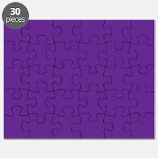 Blue Violet Solid Color Puzzle