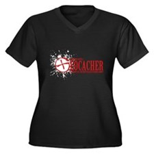 Dont Mess With a Geocacher Plus Size T-Shirt