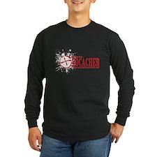 Dont Mess With a Geocacher Long Sleeve T-Shirt