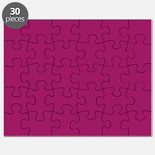 Fuchsia Purple Solid Color Puzzle