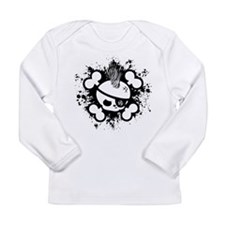 Cute Punk rock anarchy Long Sleeve Infant T-Shirt