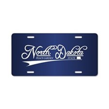 North Dakota State of Mine Aluminum License Plate
