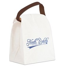 North Dakota State of Mine Canvas Lunch Bag