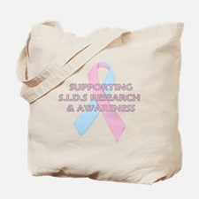 ...S.I.D.S Ribbon... Tote Bag