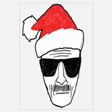 Heisenberg Santa Wall Art