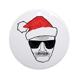 Breaking bad Round Ornaments