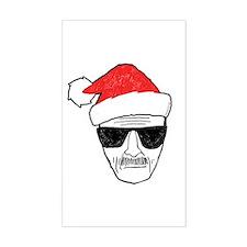 Heisenberg Santa Bumper Stickers