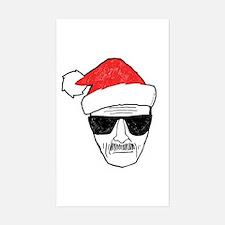 Heisenberg Santa Decal