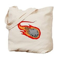 Flying Meteor Tote Bag